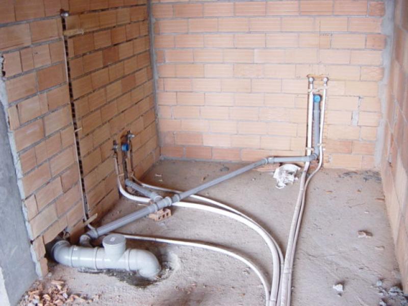 Schema impianto idraulico bagno